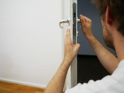 Absicherung von Türen